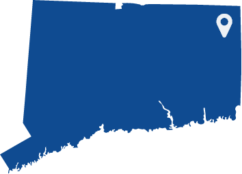 Animated state of Connecticut logo